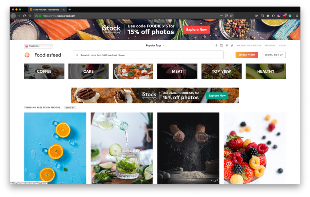 Top Free Stock Photo Sites - FoodiesFeed